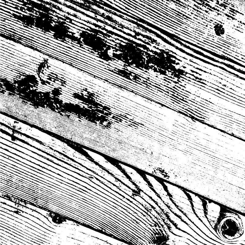 Capa de madera del tablón libre illustration