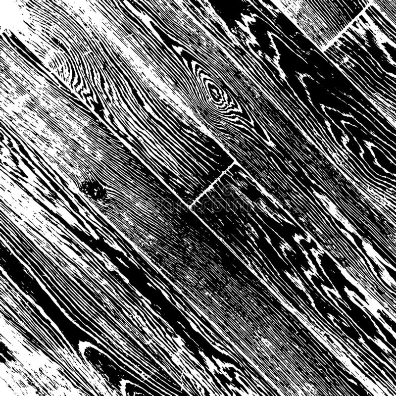 Capa de madera de los tablones libre illustration