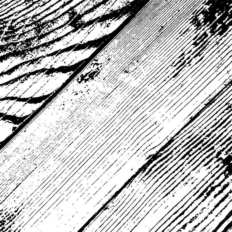 Capa de madera de los tablones stock de ilustración
