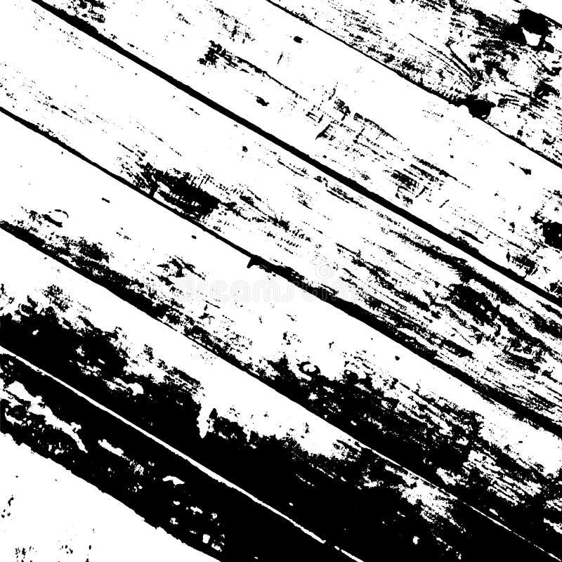 Capa de madera de los tablones ilustración del vector