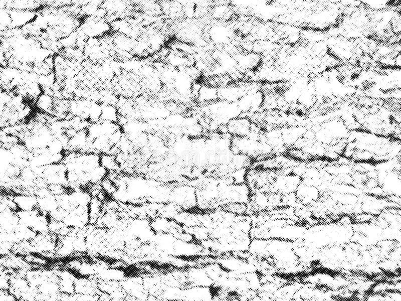 Capa de semitono de madera de la textura Fondo del vector stock de ilustración