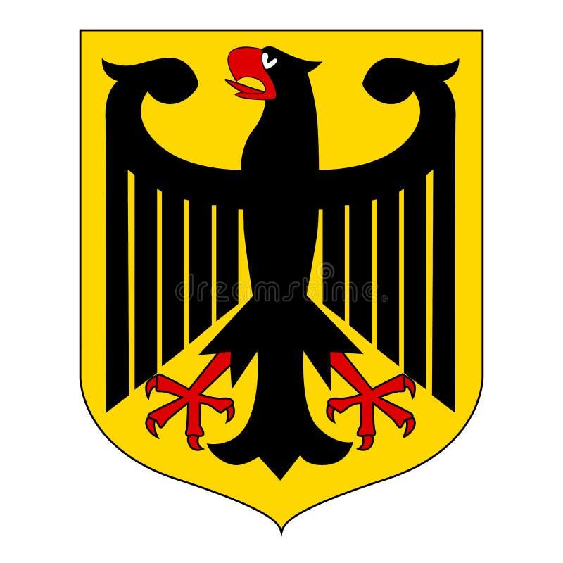 Capa del alemán del ejemplo del vector ilustración del vector