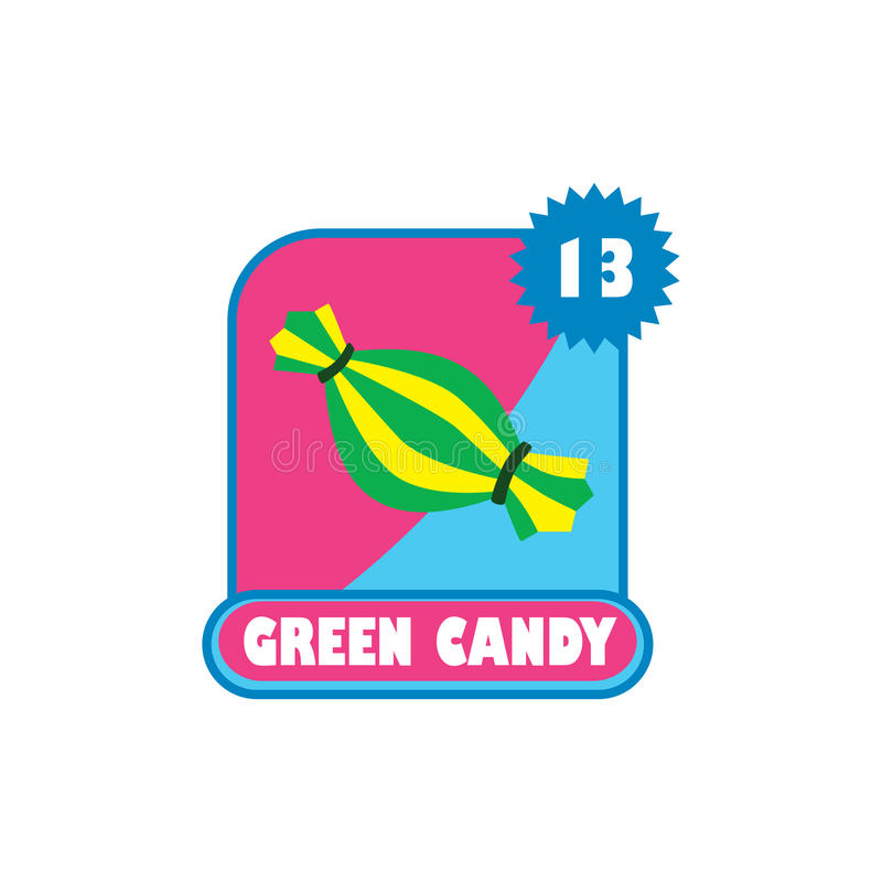 Capa del menú del activo del juego - símbolo de la muestra del icono del videojuego stock de ilustración