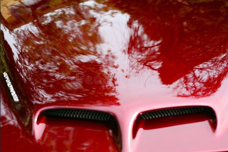 Capa do carro de esportes foto de stock