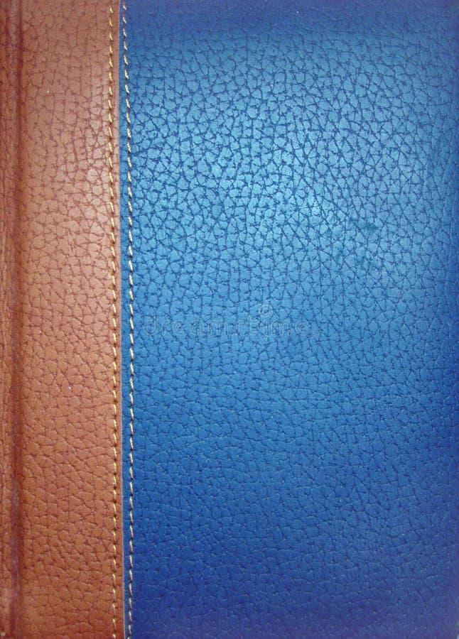 Capa do livro de couro sem o título imagens de stock