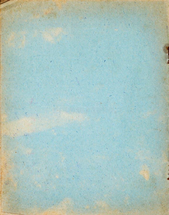 Capa velha do caderno feita do papel reciclado imagens de stock royalty free