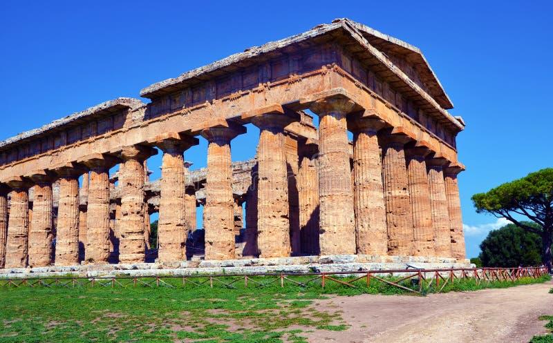 Capaccio paestum Italien royaltyfri foto