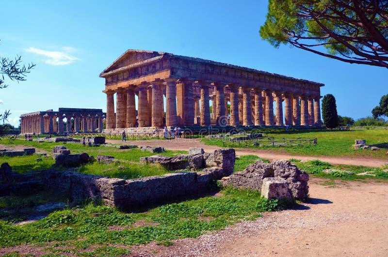 Capaccio paestum Italien royaltyfria bilder