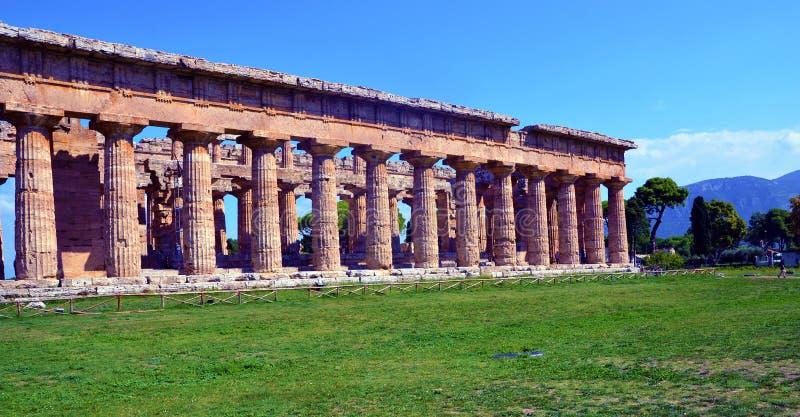 Capaccio paestum Italien royaltyfri fotografi