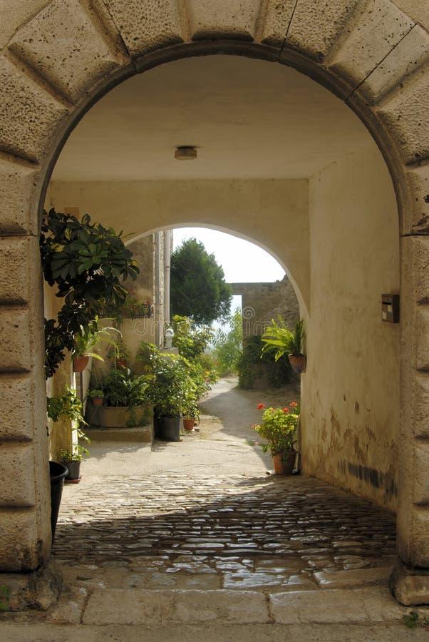 Download Capaccio stock image. Image of streets, campania, arcades - 83932827