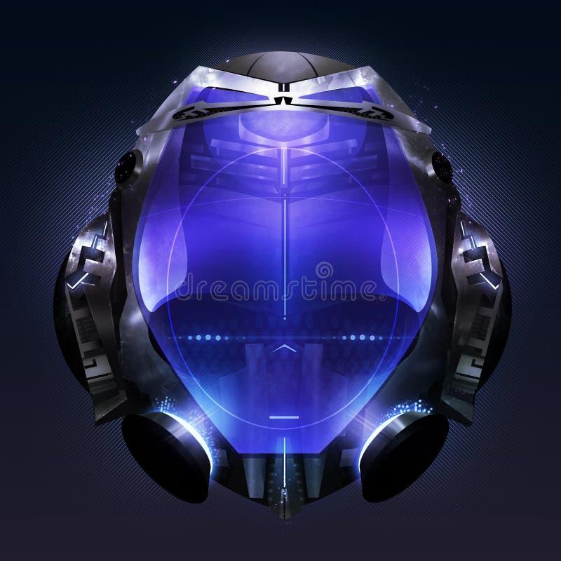 capacete ilustração do vetor
