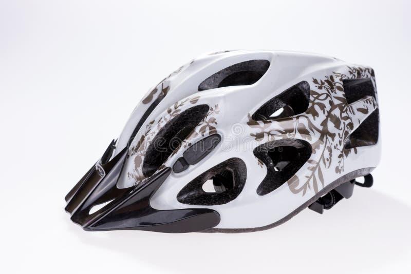 Capacete Bicycling fotos de stock royalty free
