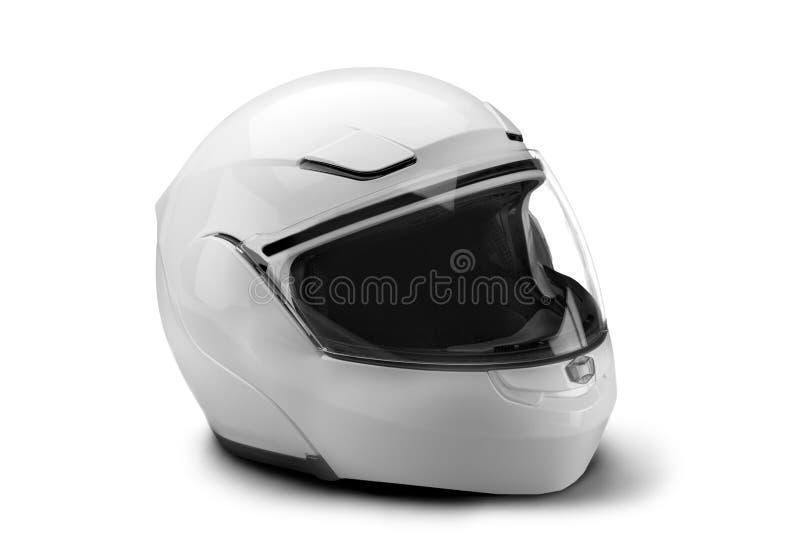 Capacete da motocicleta fotografia de stock
