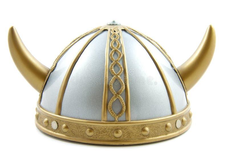 Capacete de Viquingue imagem de stock royalty free