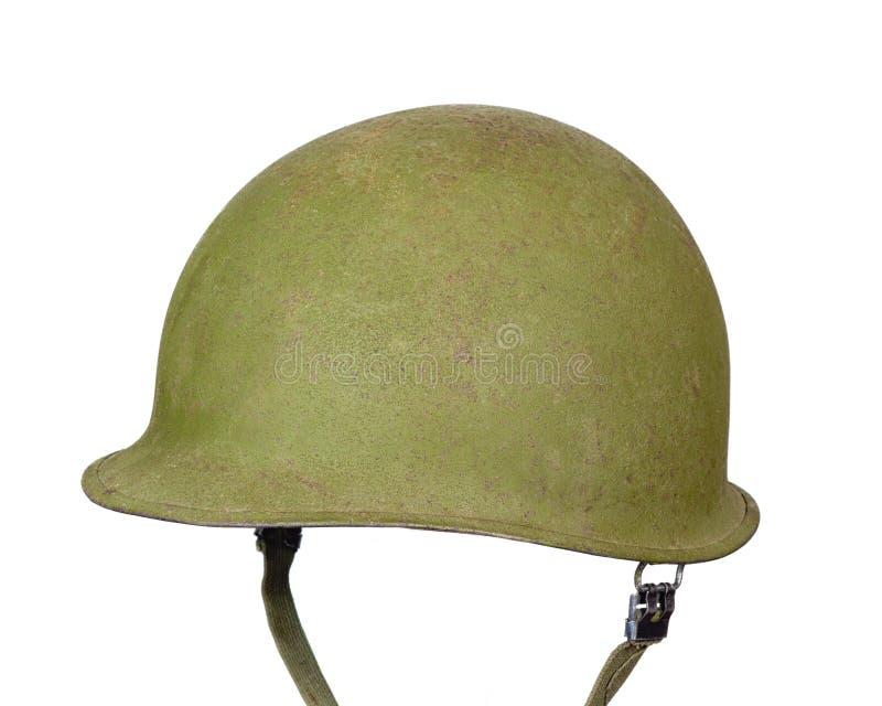 Capacete do exército M1 fotografia de stock