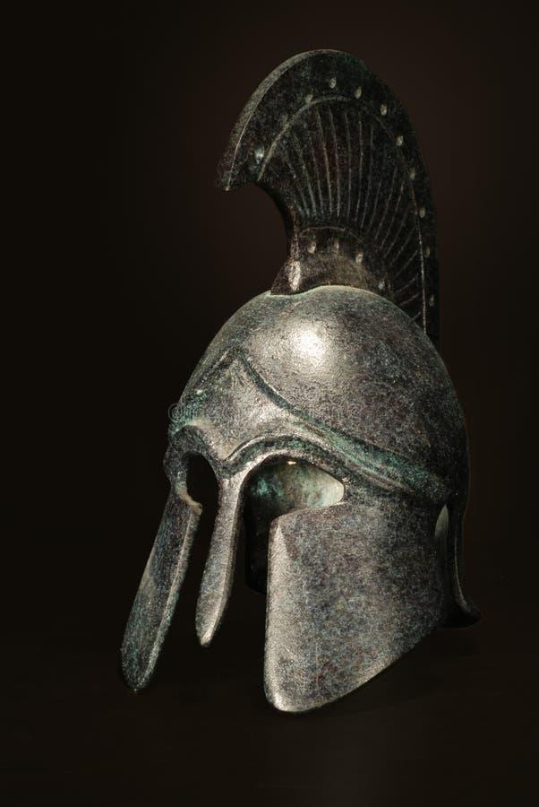 Capacete do gladiador imagem de stock