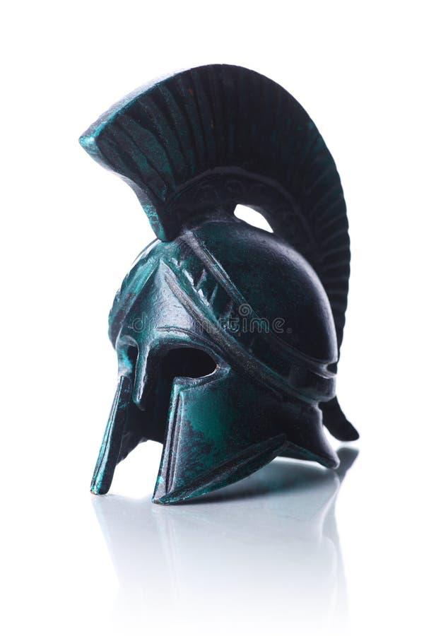 Capacete grego imagens de stock