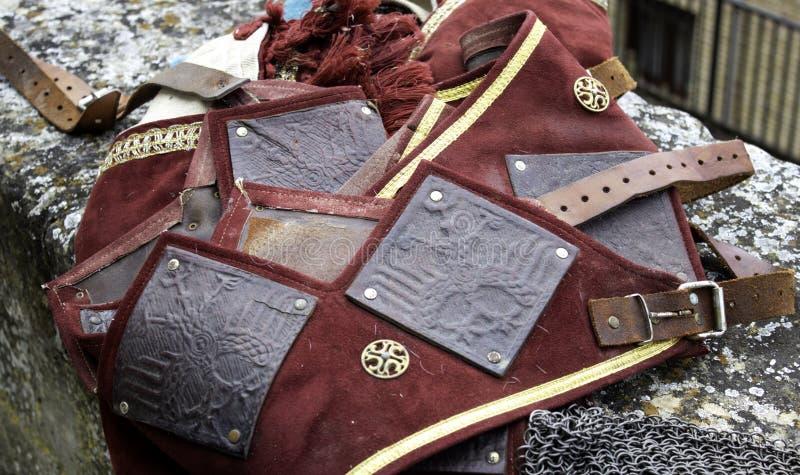 Capacete medieval da armadura fotos de stock royalty free