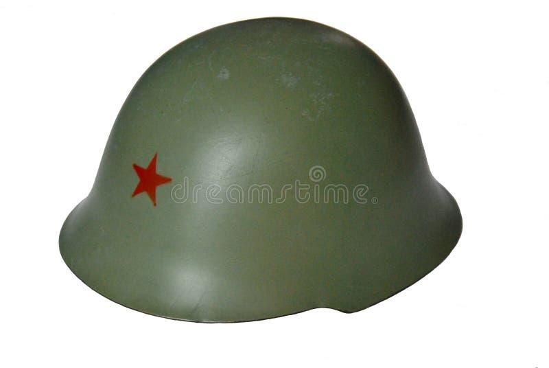Capacete militar JNA fotografia de stock