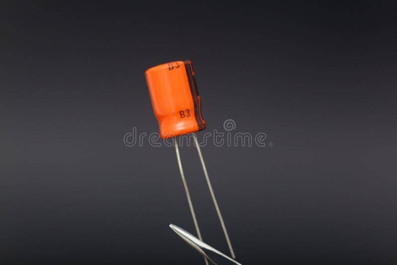Capacitor imagem de stock