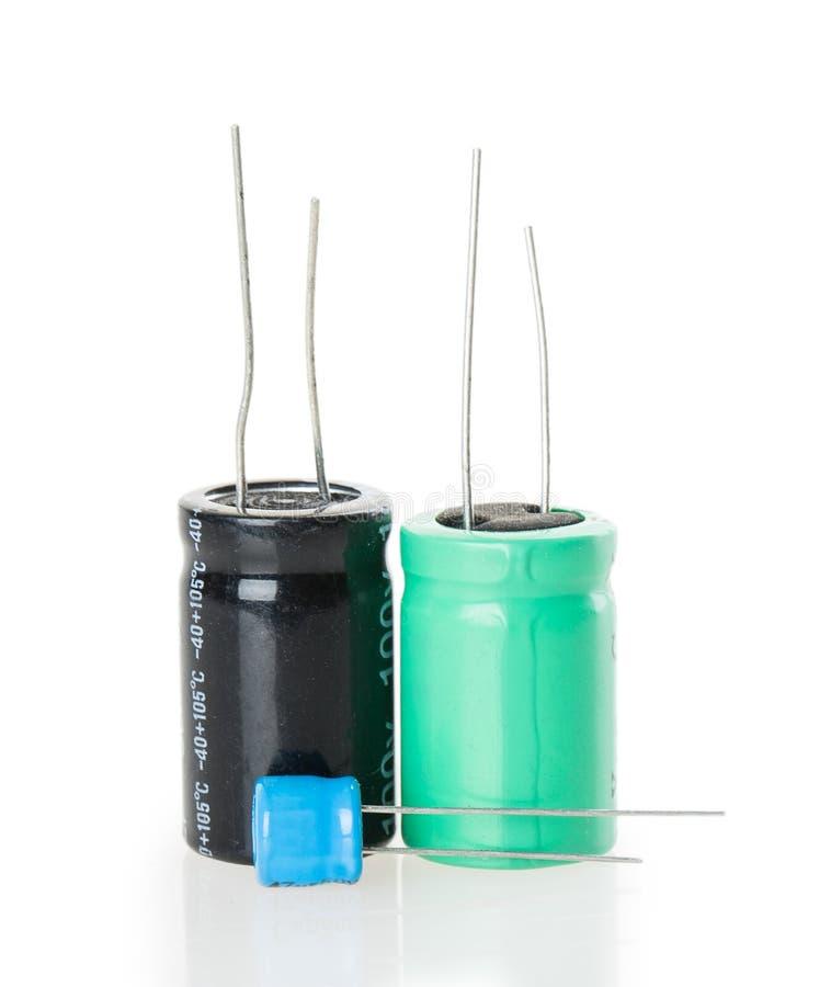 capacitor obraz stock