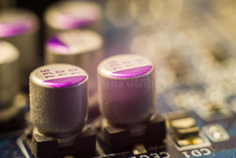 capacitores imagens de stock royalty free