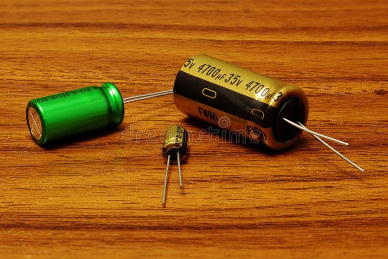 capacitores fotos de stock royalty free