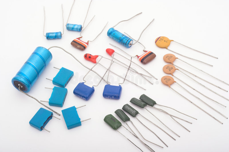 Download Capacitors stock image. Image of handicraft, teaching, capacitors - 464037