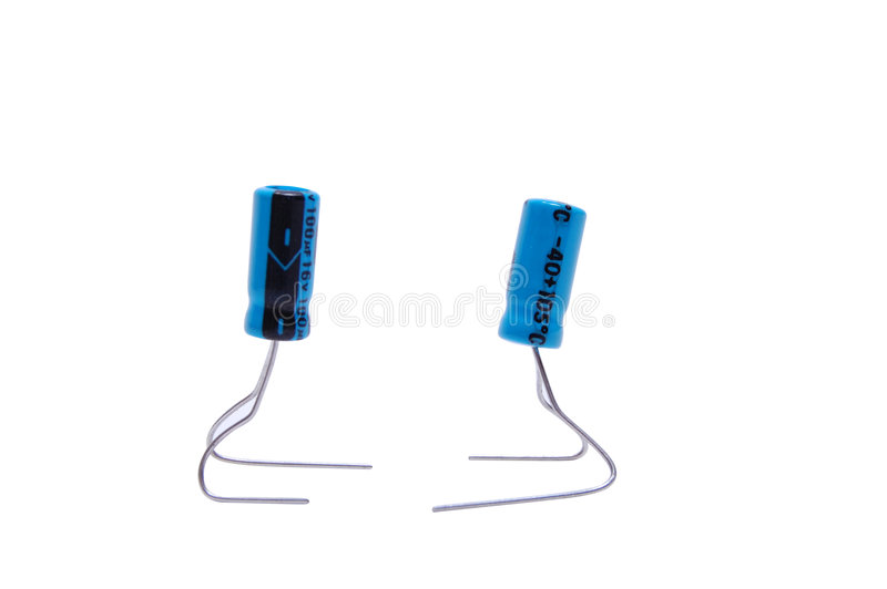 capacitors zdjęcia stock