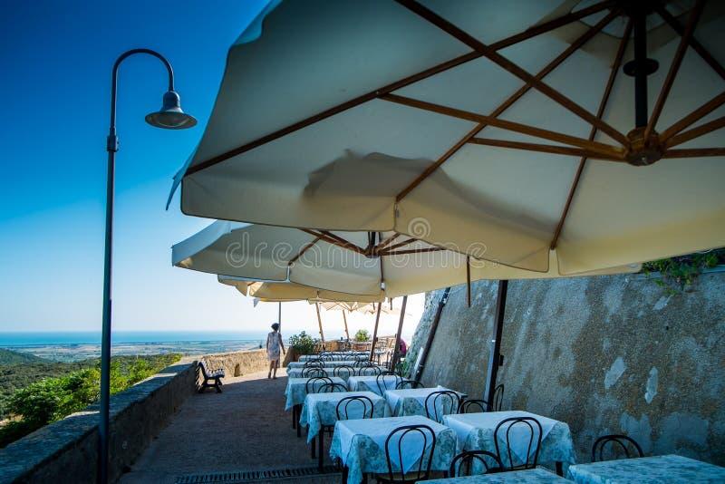 Capalbio, взморье Гроссето Тосканы стоковые фотографии rf