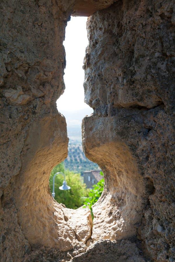 Capalbio малая башня в maremma, Тоскане, Италии стоковые изображения rf