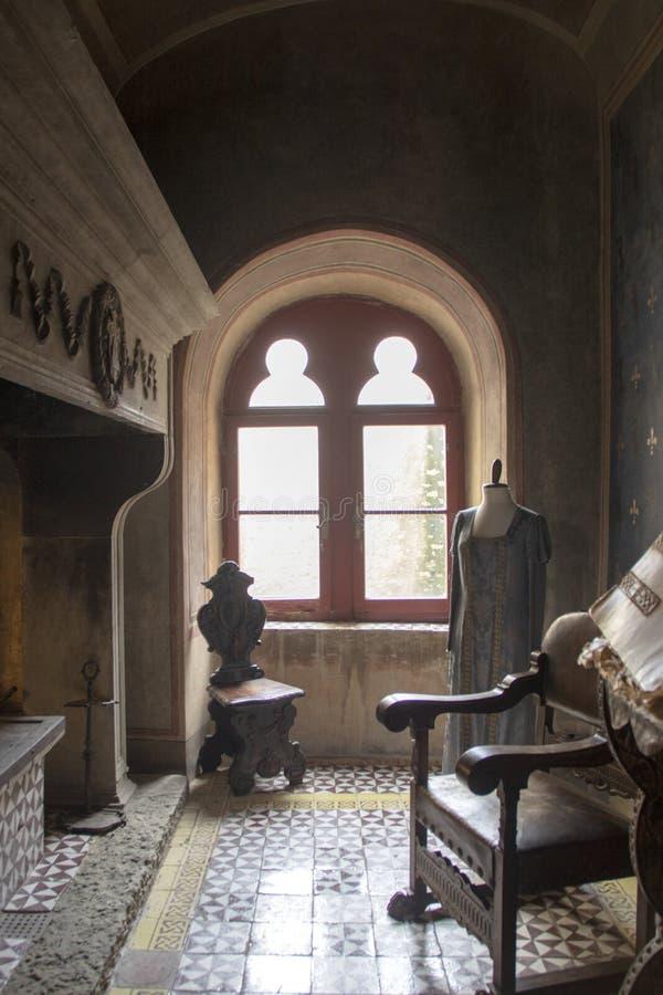 Capalbio, Rocca Aldobrandesca стоковое изображение rf