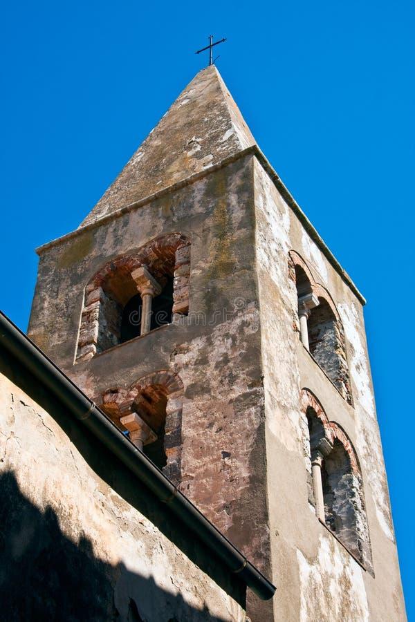 Capalbios Glockenturm stockfotos