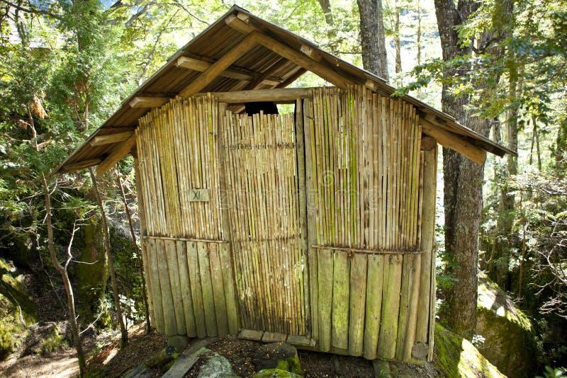 Capanna di campeggio Cile immagine stock libera da diritti