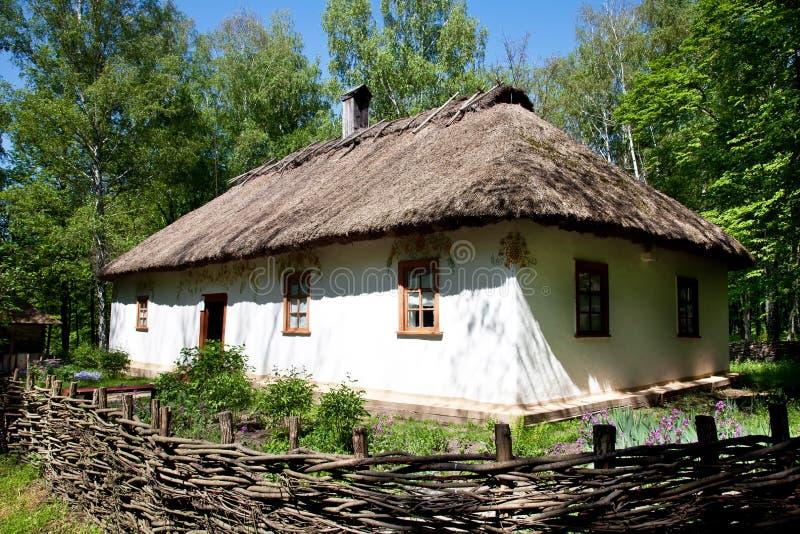 Capanna tradizionale ucraina immagini stock
