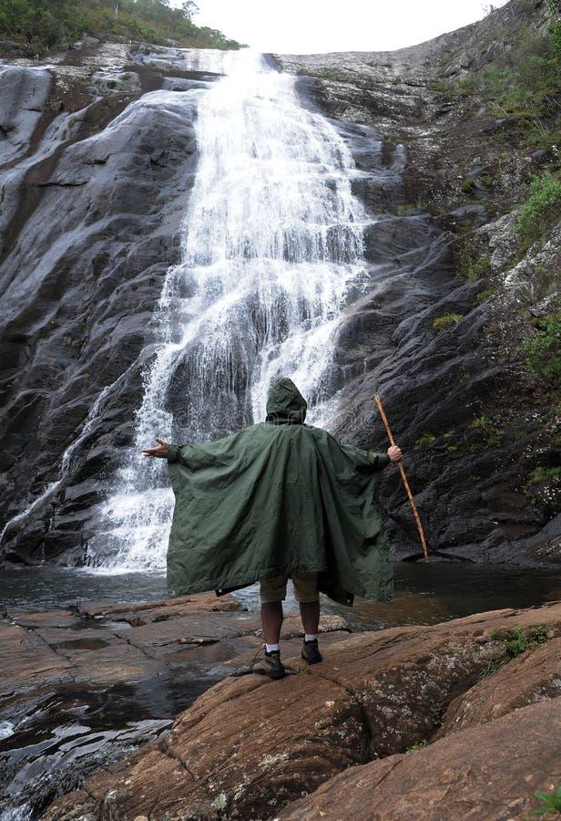 Caparao Nationaal Park - Bonita Waterfall royalty-vrije stock afbeeldingen