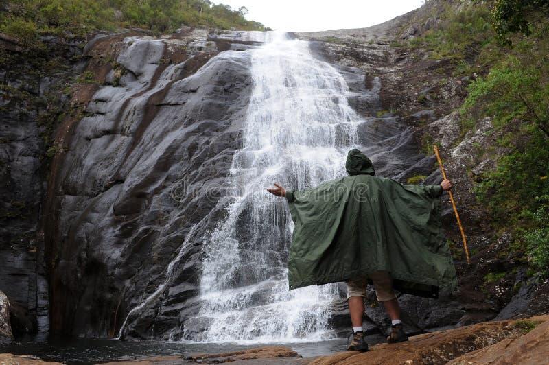 Caparao Nationaal Park - Bonita Waterfall stock afbeelding