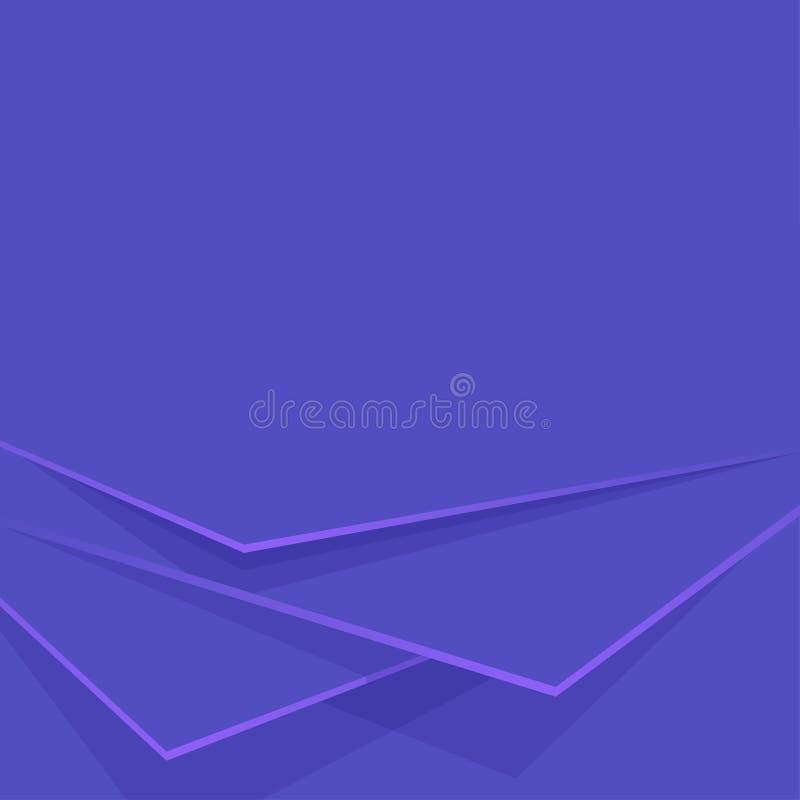 Capas azules del fondo del extracto Contexto editable del vector ilustración del vector