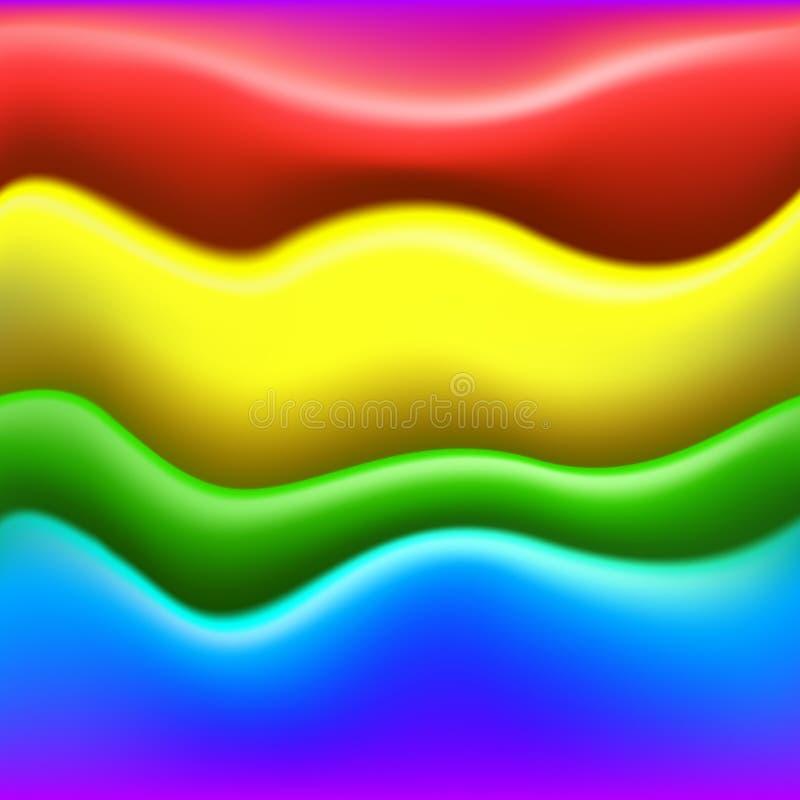 Capas coloridas de la pintura. Fondo inconsútil stock de ilustración