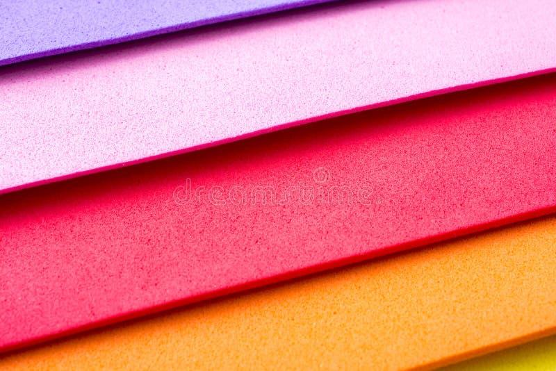 Capas coloridas del diseño material imagenes de archivo