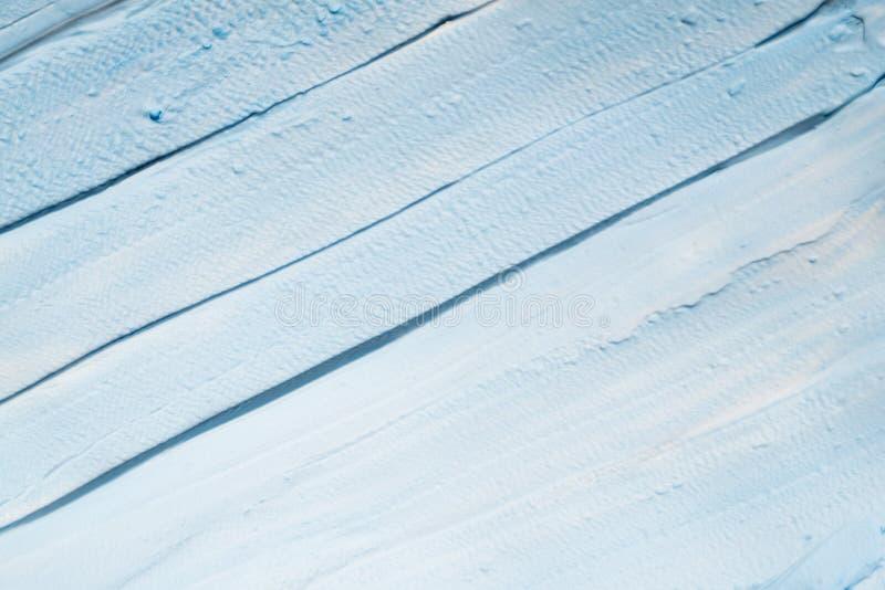 Capas de la pincelada del fondo del arte de la pintura del azul de cielo imágenes de archivo libres de regalías