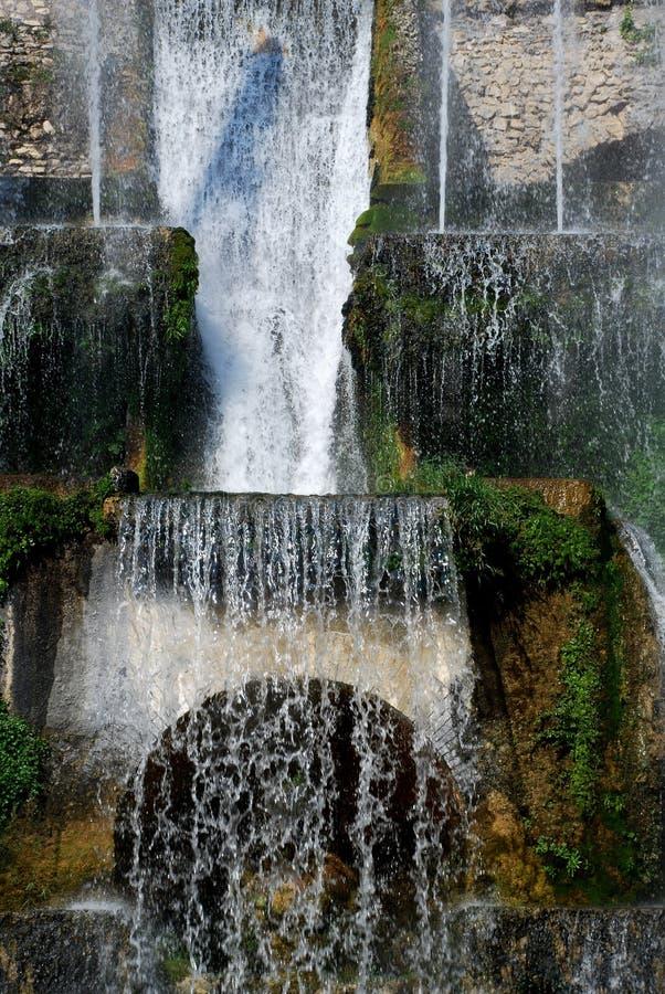 Capas del agua fotografía de archivo