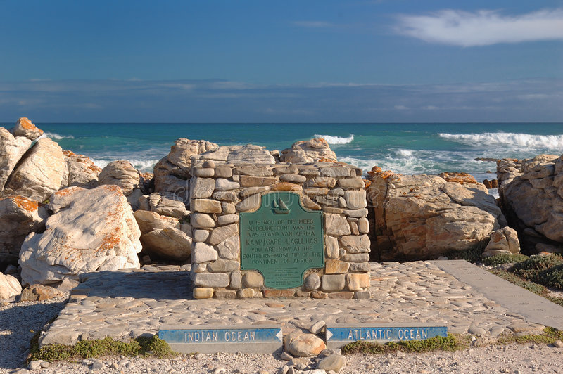 Cape Agulhas stock images