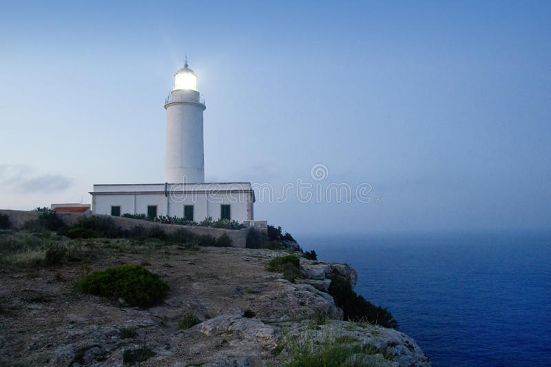 Download Cape Barbaria Lighthouse Sunset Lighting Stock Photo - Image: 19666228