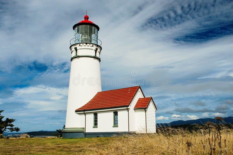 Cape Blanco Lighthouse, Oregon stock photos