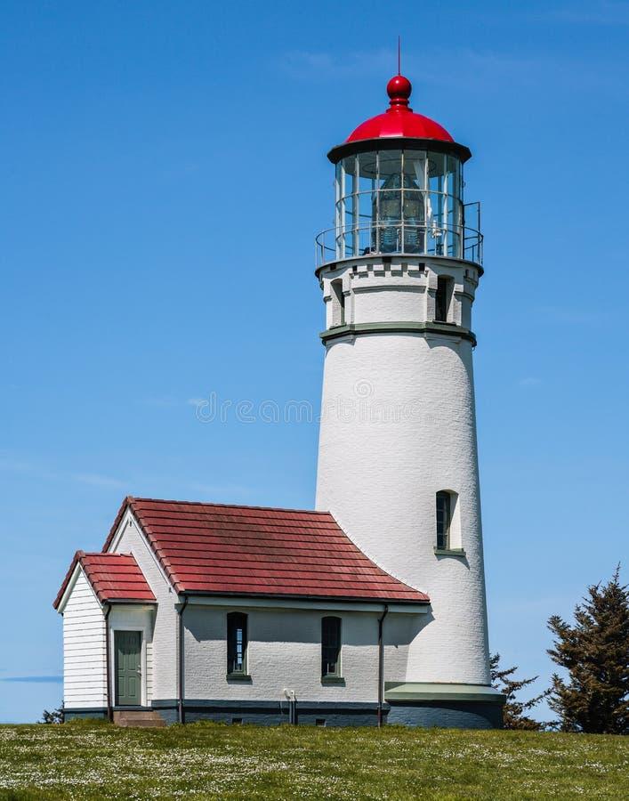 Cape Blanco Lighthouse. On the Oregon coast royalty free stock photo