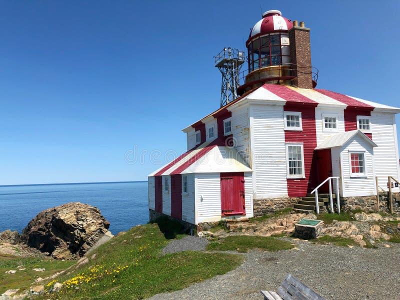 Cape Bonavista lighthouse royalty free stock image