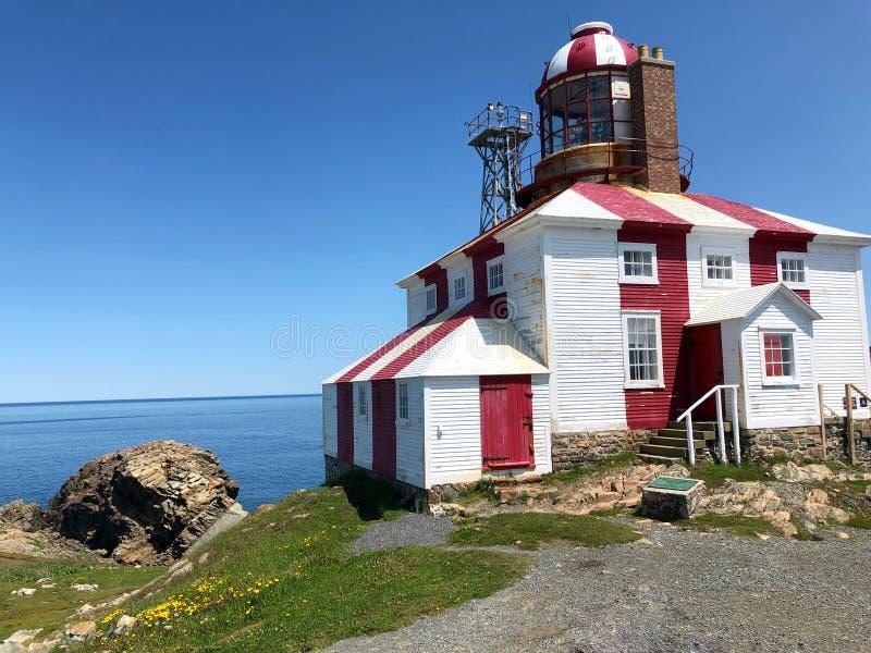 Cape Bonavista lighthouse royalty free stock photo