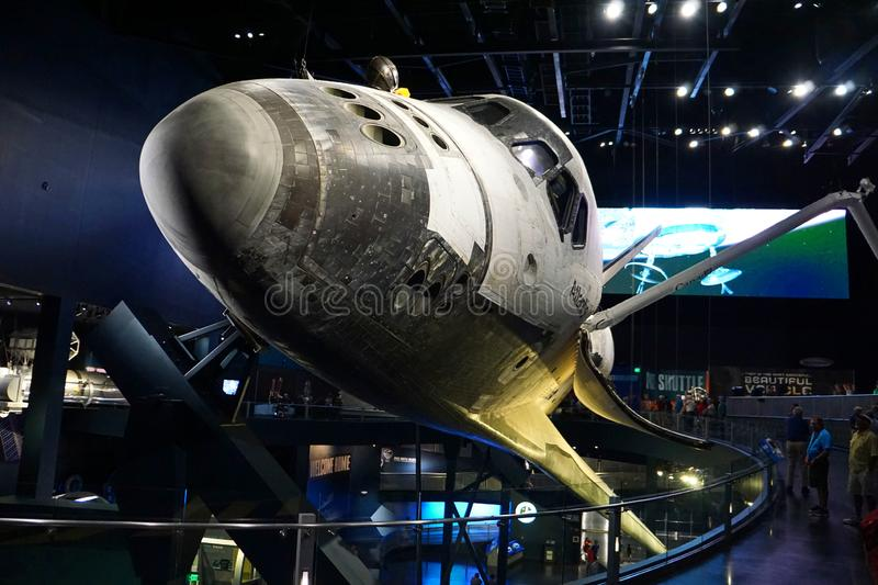 Space Shuttle Atlantis at the Kennedy Space Center royalty free stock photography