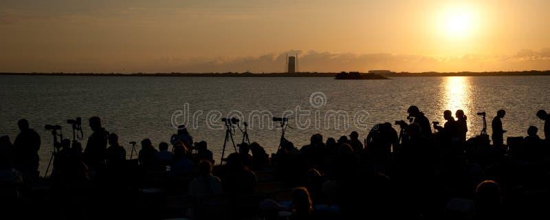 Cape Canaveral lansering royaltyfri fotografi